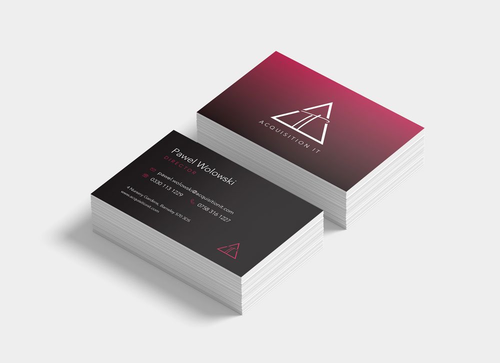 Acquisition IT Branding