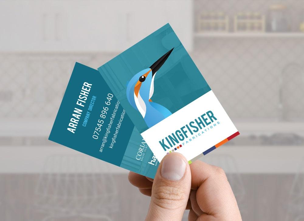 Kingfisher Fabrications Branding