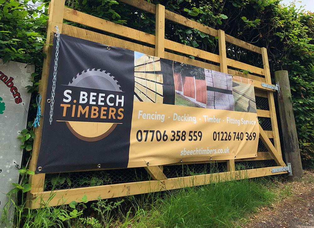 S Beech Branding