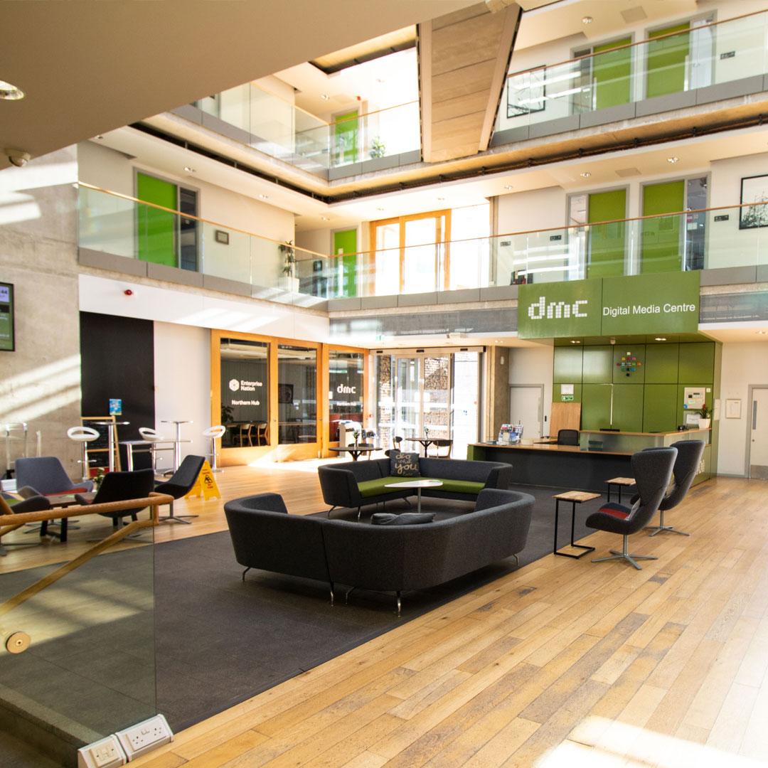Inside the Digital Media Centre