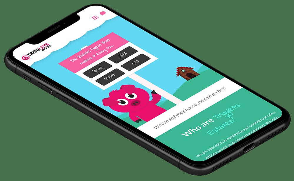 Trigglets Website Design and Development
