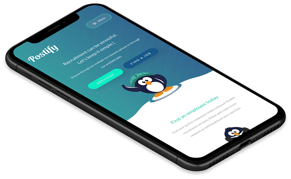 Postify Website Design and Development